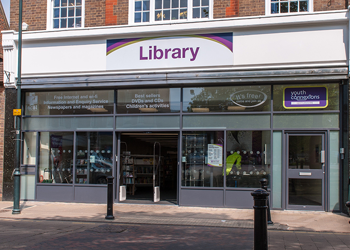 Harpenden library